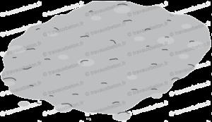 beton frais entrain de secher