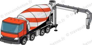 camion toupie avec tapis