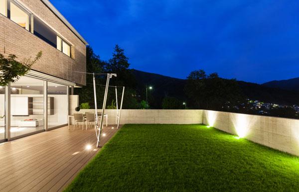 mur cloture beton maison