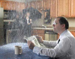 pluie maison