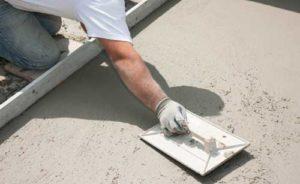 talochage dalle beton exterieur