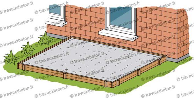 comment colorer du beton exterieur cool terrasse extrieure bton liss color gris alu with. Black Bedroom Furniture Sets. Home Design Ideas