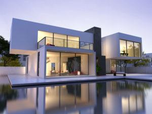 maison beton architectonique