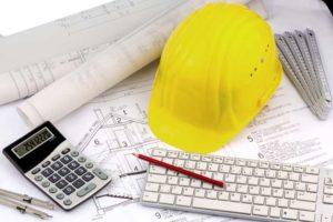 preparation chantier beton maison