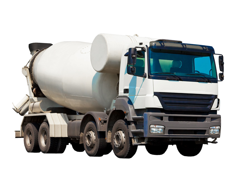 camion toupie livraison béton