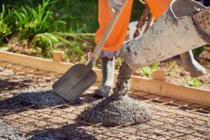 entreprise de béton coulage dalle béton terrasse