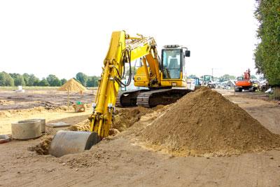 pelleteuse fondation construction