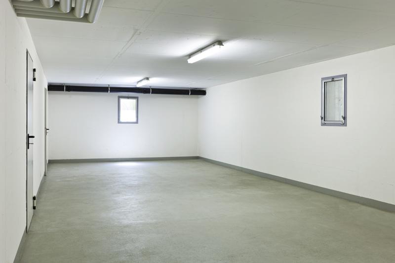 sol béton garage