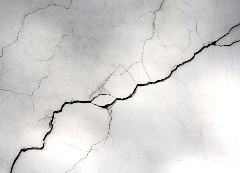 fissure beton