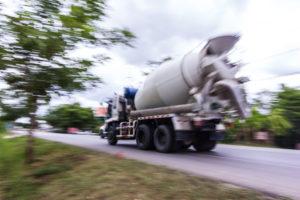 livraison beton toupie