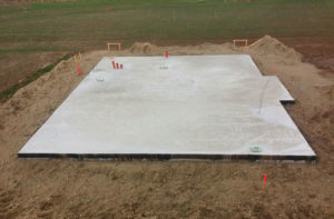 radier maison fondation dalle beton