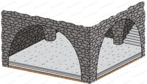 beton sous sol cave