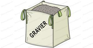 big bag gravier