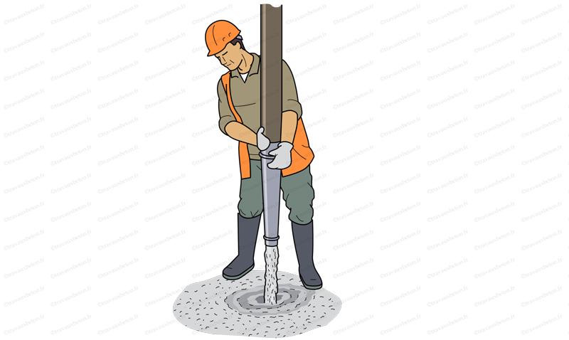 pompe a chape pompage chape fluide