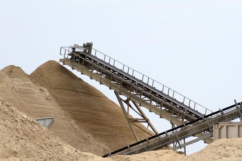 sablière sable