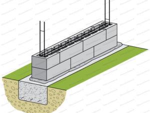 comment poser parpaing a bancher mur