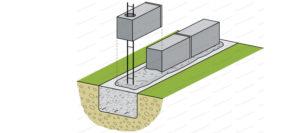 assemblage mur parpaing