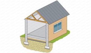 dallage beton maison