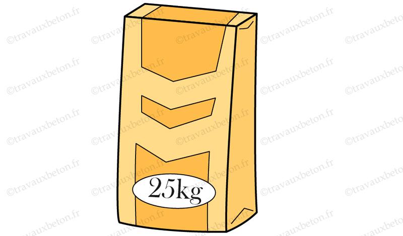 sac ciment 25 kg