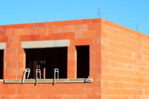 maison brique avec linteau beton