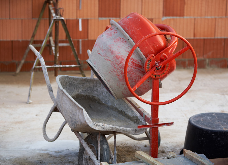 fabrication béton bétonnière