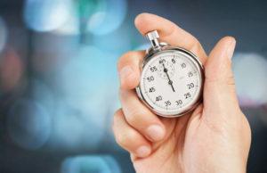 mesure temps chronometre