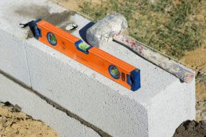 construction mur cloture