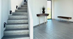 carrelage escalier beton