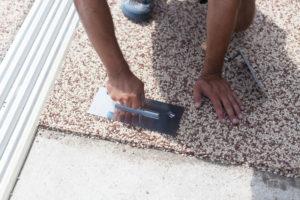 habillage terrasse beton resine