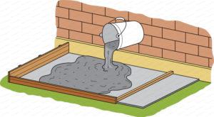 pose chape exterieur sur dalle beton