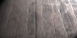 dalle beton imitation bois