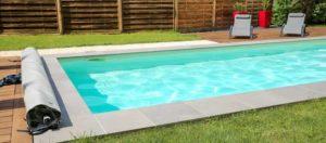 margelle piscine beton