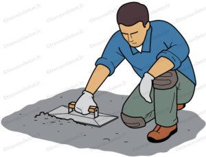 laitance ciment talochage