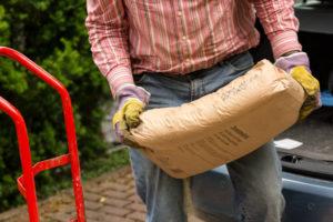 transport sac de ciment