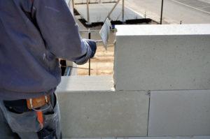 assemblage mur beton cellulaire