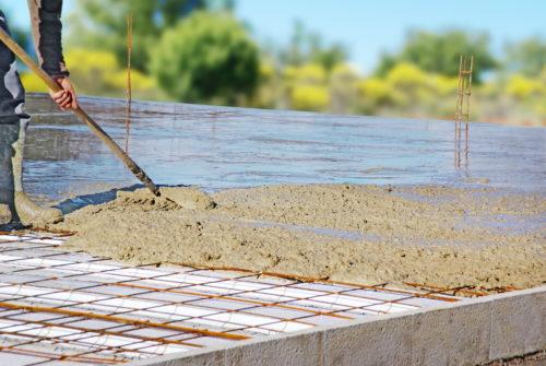 Dalle-beton