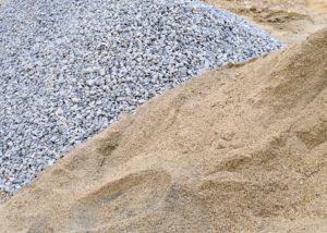 Gravier-sable